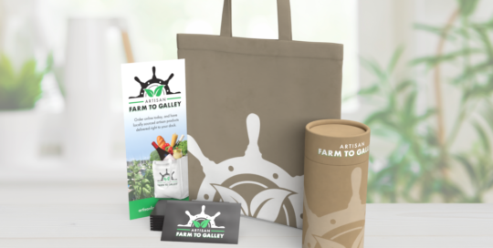Farm to Galley Logo Design